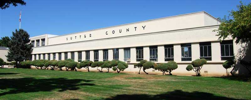 Sutter County Courthouse Yuba City