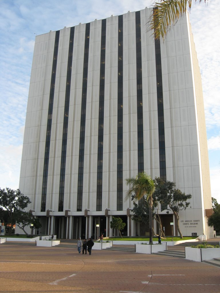 Compton Courthouse LA County