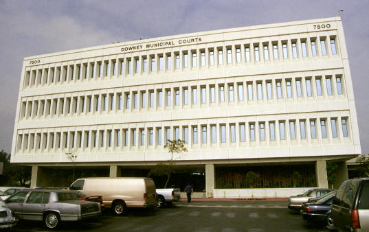 Downey Courthouse LA County