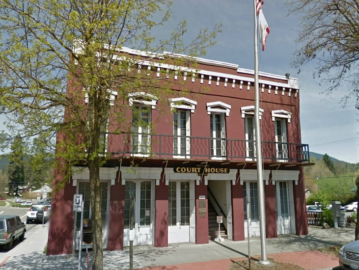Trinity Superior Court main Courthouse Weaverville